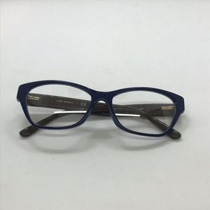 Tory Burch Accessories - Tory Burch 2053 Navy / Coconut Eyeglasses